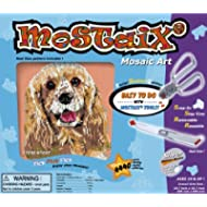 Kidicraft Mostaix Ribbon - Kit creativo da tavola, Serie: Cani (argento)