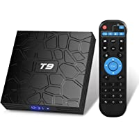 Android TV Box, T9 Android 9.0 TV Box 2GB RAM/16GB ROM RK3318 Quad-Core TV Box Support 2.4GHz/5.0GHz WiFi Bluetooth 4.0…