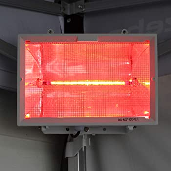 500 Watt W Red 118 mm R7 IR Infrared Halogen Outdoor Parasol Heater Bulb Lamp