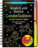 Constellations Scratch & Sketch (Art, Activity Kit) (Trace-Along Scratch and Sketch) by Peter Pauper Press (25-Oct-2014) Hardcover