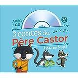 3 contes du Père Castor Gare au loup ! : A pas de loup ; Le petit loup qui se prenait pour un grand ; Va-t'en, gros loup méchant ! (1CD audio)