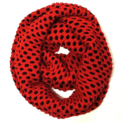 Wrapables Dottie Infinity Acrylic Knit Scarf Circle Scarf (Knit Circle Scarf)