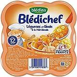 Blédina Blédichef Légumes et Dinde à la Méridionale 230 g