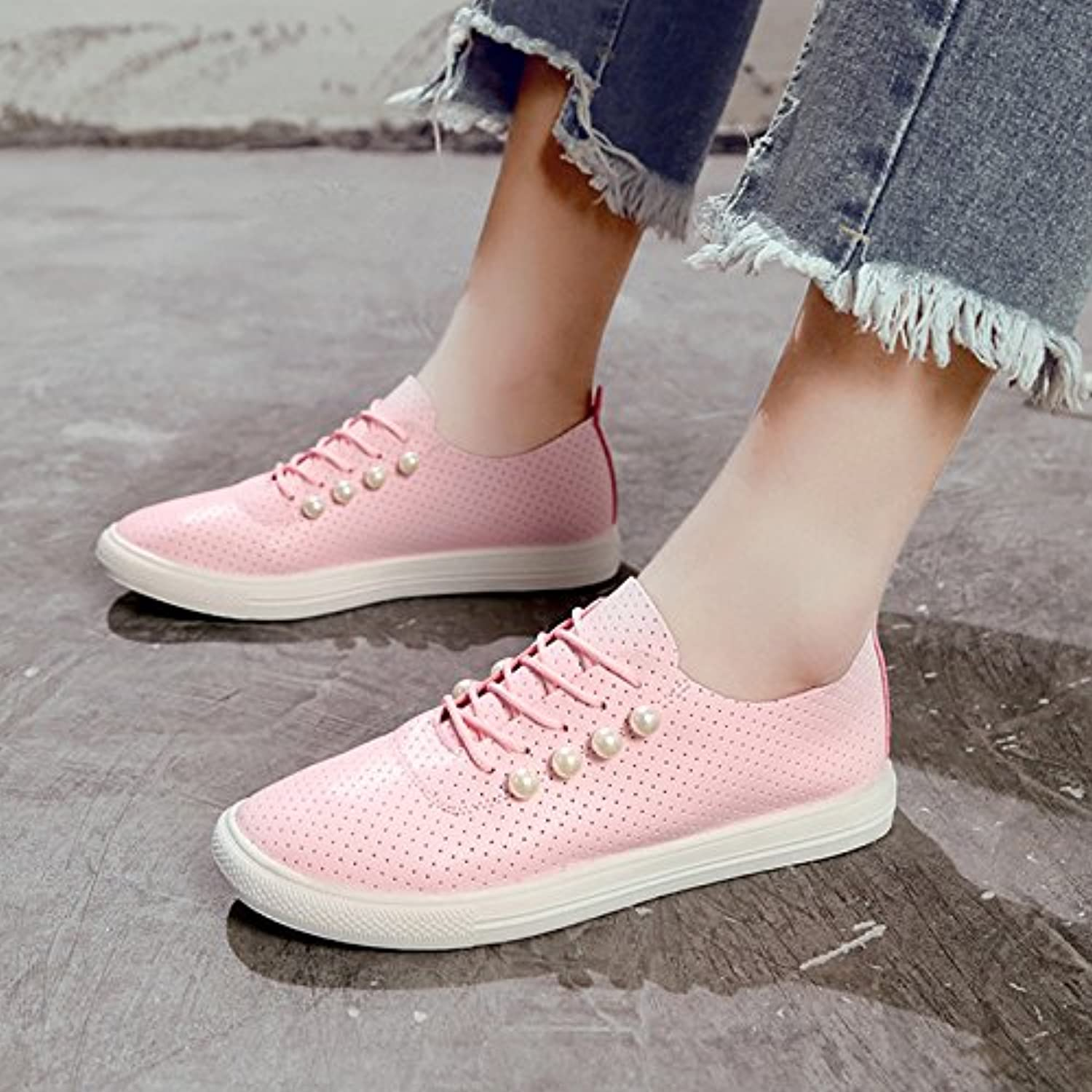1e9a0cd3690 GAOLIM GAOLIM GAOLIM The Small White Shoes The Girl Spring Wild Flat-Bottomed  Canvas Shoes
