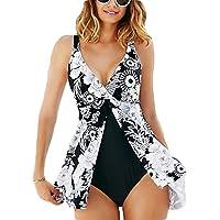 Donne Plus Size Halter Costume da Bagno Pezzo Reggiseno Imbottito Push Up Bikini Costumi da Bagno Swimsuit Beachwear