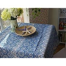 LSD-fubao la nueva cubierta de tela de impresión japonesa toallas,azul nacional,90x90cm