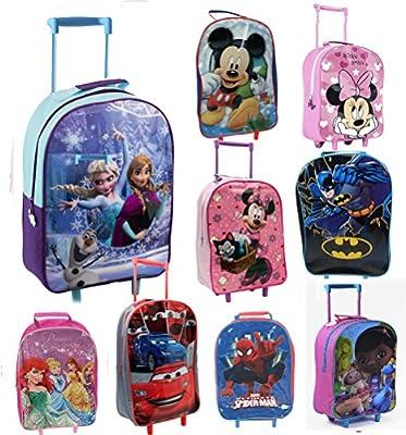 Kids Disney Marvel Wheeled Trolley Case