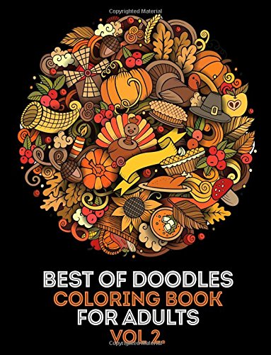 oloring Book For Adults vol 2: 35 High Quality Doodle Designs From Our Doodle Books (Paisley, Halloween, Music, Dessert, Food, ... Doodle,Paisley, Floral Ornament etc.) (Beste Halloween-desserts)