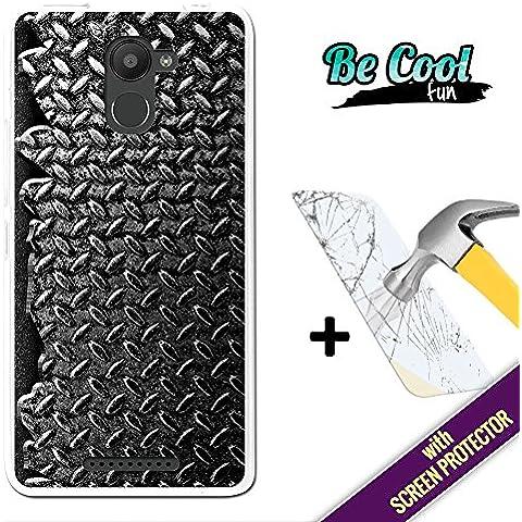 Becool® Fun - Funda Gel Flexible para Bq Aquaris U Plus, [ +1 Protector Cristal Vidrio Templado ] Carcasa TPU fabricada con la mejor Silicona, protege y se adapta a la perfección a tu Smartphone y con nuestro exclusivo diseño. Textura de