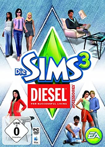 Die Sims 3: DIESEL Accessoires Add-on [PC/Mac Online Code] (Pc The Sims 3)