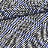 Pepelinchen Baumwolljersey - Glen Check Diagonal -