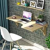 Tabelle LHA Klappbarer Computer Schreibtisch aus Holz Table