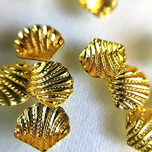 Stores club Marine Teile für Harz 50 Stück Shell Gold (Cl-gold-harz)