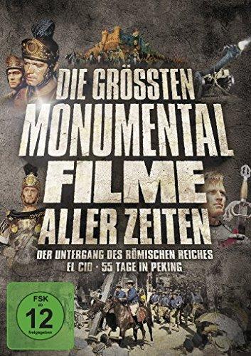 Bild von Die größten Monumentalfilme aller Zeiten [3 DVDs]