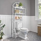 Étagère de Toilette étagère de Salle de Bain Etagere Dessus Toilette étagère Rangement Toilette Etagere Toilettes WC Rangemen