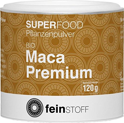 Feinstoff Bio Maca Premium Pulver
