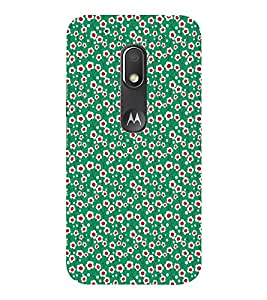 EPICCASE windy flowers Mobile Back Case Cover For Moto Play (Designer Case)