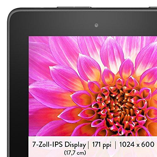 Fire-Tablet, 17,7 cm (7 Zoll) Display, WLAN, 8 GB (Schwarz) – mit Spezialangeboten - 4