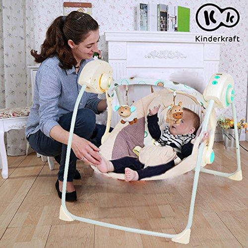 KinderKraft Modelo Easy Swing hamaca bebe electrica caballito