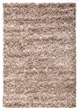 """Extra Large 5cm Thick Shag Pile Soft Shaggy Area Rugs Modern Carpet Living Room Bedroom Mats (160x230cm (5'3""""x7'7""""), Mixed Beige)"""