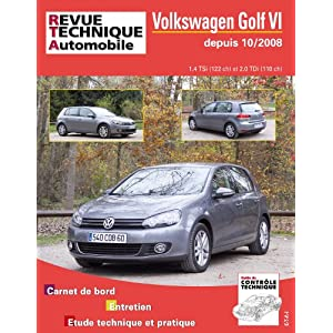 Revue Technique B736.5 Volkswagen Golf VI 10/2008>Ess1.4+2.0 Tdi