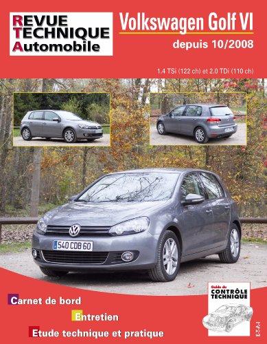 Rta B736.5 Volkswagen Golf VI 10/2008>Ess1.4+2.0 Tdi par Etai
