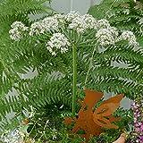 Gartenzaubereien Beetstecker Elfen Junge mit Blume