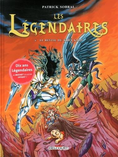 Les Légendaires, Tome 4 : Le Réveil du Kréa-Kaos (+ magnet, éd. limitée)