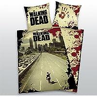 Copripiumino The Walking Dead.Amazon It The Walking Dead Set Copripiumini E Federe Piumini E