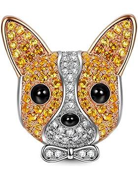 NinaQueen Bolt Damen-Charm 925 Sterling Silver Bead