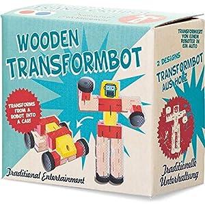Tobar Transformbot - Caja de madera , Modelos/colores Surtidos, 1 Unidad