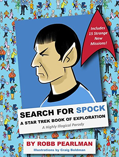 Search for spock star trek book of exploration hc - Toms Kleidung