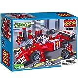 #8: Babytintin™ COGO Racers Formula F1 Truck Car Popular Toys Racing Model Car Building Bricks Blocks Toy for Children Boys 218 Pieces (3401)