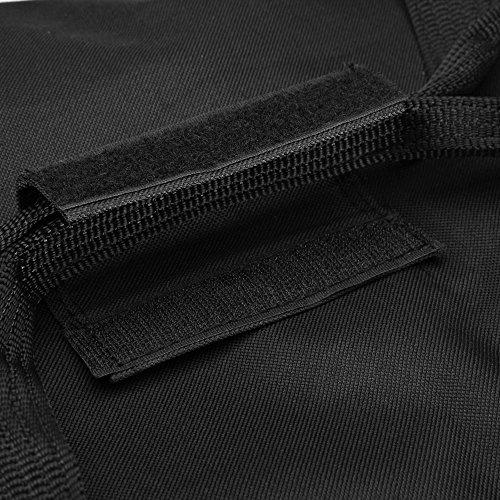 Sporttasche - 70 cm - 95 Liter Stauraum - Reistetasche Reisekoffer Koffer Tasche schwarz Schwarz