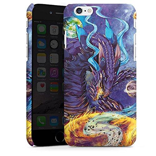 Apple iPhone X Silikon Hülle Case Schutzhülle Drache Fantasie Traum Premium Case matt