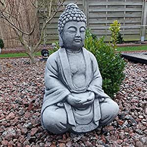 Steinfigur Buddha Garten Of Steinfigur Buddha Skulptur Gartenfigur Frostfrei Steinguss