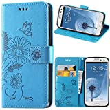 kazineer Galaxy S3 Case, Premium Leather Phone Wallet Case