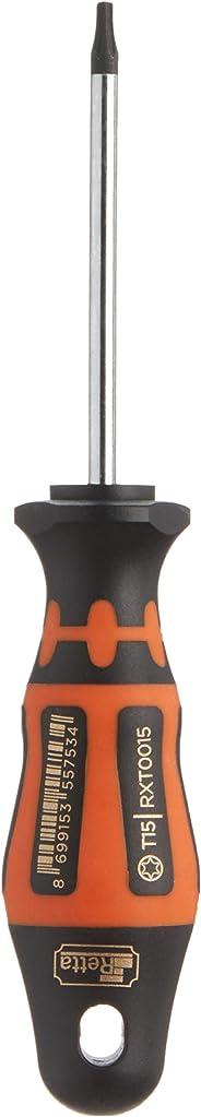 Retta Rxt0015 Torx Uçlu Tornavida, Turuncu/Siyah, T15 X 80 Mm