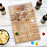 Beer-O-Poly Beer Drinking Game by WOODCRAFT Perfect for Parties and Tailgating
