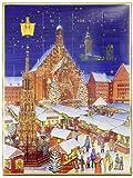 Lauensteiner Adventskalender Motiv Nürnberg