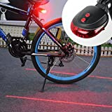 #7: Granth Enterprise Bicycle Tail Light with Laser