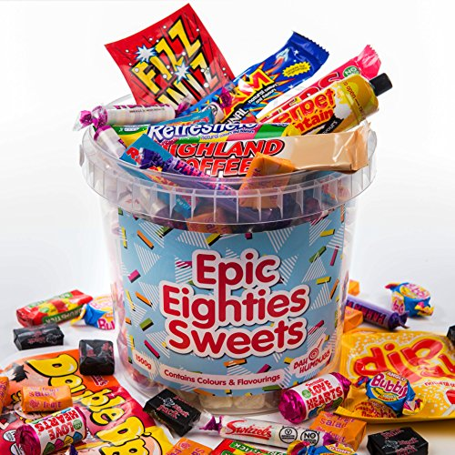 Epic Eighties Sweets - 1980s Decade Sweet Jar