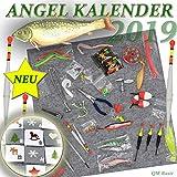 qm basic ADVENTSKALENDER Angler Fischer zum Selbst Befüllen 2019 Männer Angel Werkzeug XXL Weihnachtskalender 24 Säckchen ü5ü 60