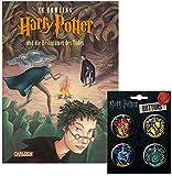 Carlsen Verlag Harry Potter und die Heiligtümer des Todes + 1. Original Harry Potter Button