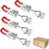 4 STKS Toggle Latch Verstelbare Toggle Klem Quick Release Pull Latch Heavy Duty 100Kg 200lbs Holding Capaciteit Draw Latch Me