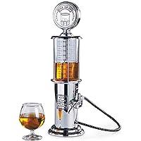 Distributeur de boisson au design chromé Rétro Nostalgie, pompe à pression pour bar, avec tuyau de pompe pour fêtes…