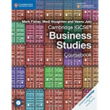 Cambridge IGCSE® Business Studies Coursebook with CD-ROM.