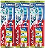 Image of Colgate triple action - Cepillo de dientes manual (dureza media, 3 unidades)
