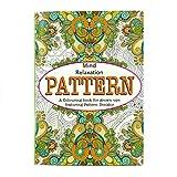 Martello Erwachsenen-Malbuch, Farbtherapie, Stressbewältigung, Entspannung für den Geist Pattern