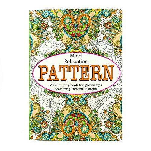 -Malbuch, Farbtherapie, Stressbewältigung, Entspannung für den Geist Pattern ()